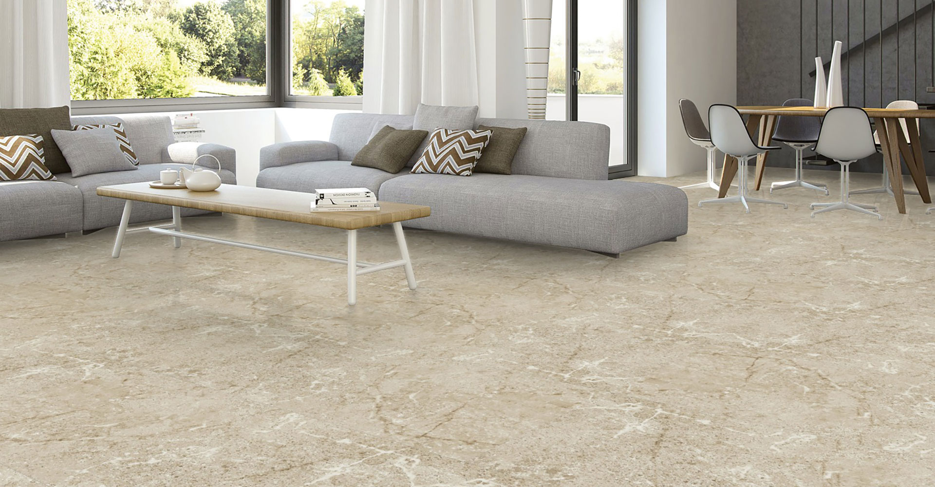 Exclusive Glazed Porcelain Tiles
