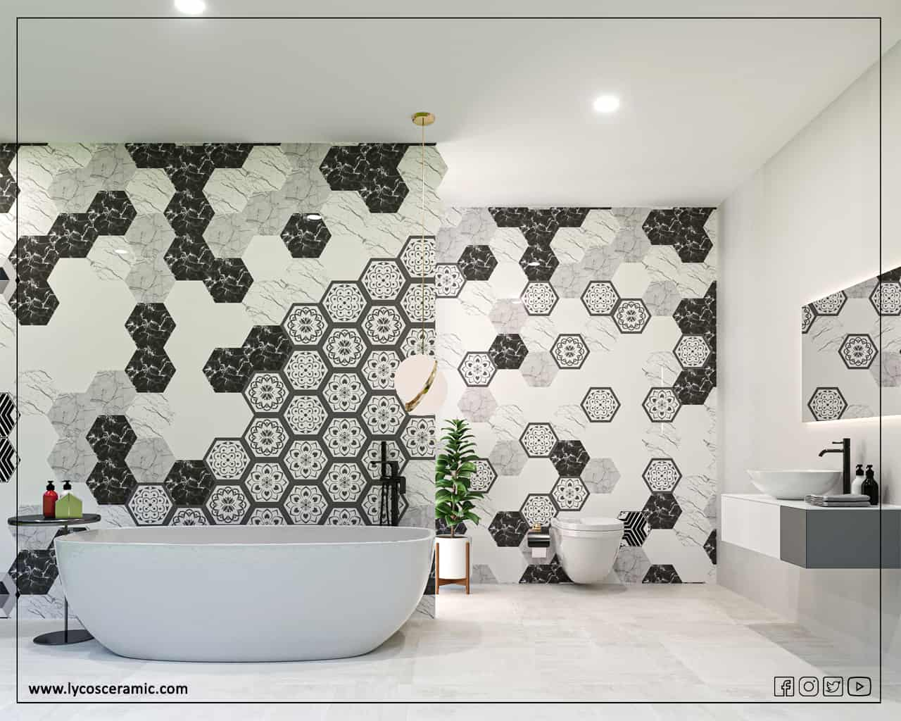 Stylish Hexagon Tile Ideas for Your Home
